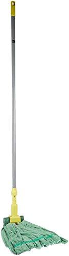 AmazonBasics Microfiber Tube Mop Head, 5-Inch Headband, Medium, Green - 6-Pack by AmazonBasics (Image #3)