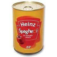 Best Price Square SAFECAN - Heinz Spaghetti 203HS