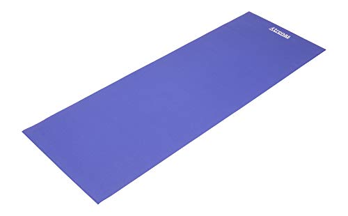 trenas Basic gymnastiekmat – 173 x 60 cm – 4 mm – 6 mm – blauw – grijs – oranje – yogamat