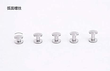 Double Curved Craft Screw Rivet Leather Decoration Screws Nail Rivets