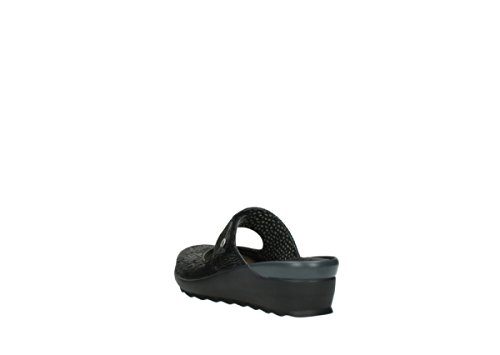 Wolky Comfort Clogs 02576 Up 70000 Black Canals GpCsH3cvP