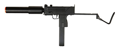 Double Eagle M-10 MAC 11 SMG AEG Semi/Full Auto Electric Airsoft Rifle Gun High Capacity Magazine FPS 220