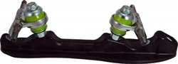 Skate Out Loud-Luigino Viper F16 Quad Skate Plate - Plate Size:850 by Skate Out Loud