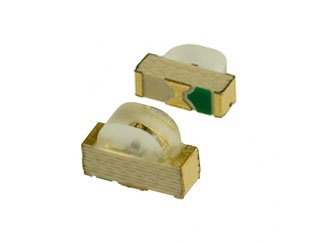 STANLEY PG1101F-TR Green 2 mm 149/130° 5.2 mcd 2.1 V Water Clear Right Angle LED Surface Mount - 3000 item(s)