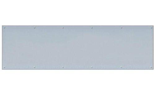 INOX GH-KPN1234-32D Kick Plate, 12'' x 34'', Satin Stainless Steel