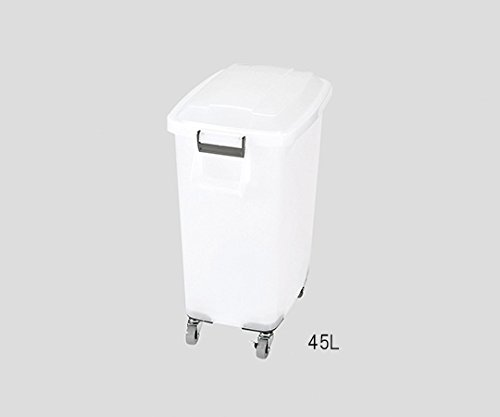 3-4838-06カラーペール(キャスター付き)70L半透明 B07BDMSBP3