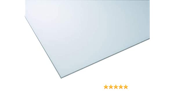IRONLUX Placa Metacrilato Opal - Hielo de 4mm de Espesor, 1015 x ...