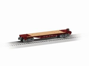 O Gauge Rolling Stock (Santa Fe Flatcar 6 Pack Assortment)