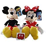 Disney Mouse Mickey Doll (Minnie Mouse Mickey Mouse Plush Doll Disney - 15 inch)