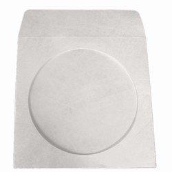 Mediaxpo Brand 1,000 Tyvek CD/DVD Sleeves with Window & Flap