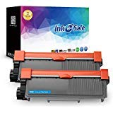 (INK E-SALE Black 2 Pack Compatible Toner Replacement for Brother TN660 TN-660 TN630 for use with Brother HL-L2340DW HL-L2380DW MFC-L2700DW DCP-L2540DW DCP-L2520DW MFC-L2740DW MFC-L2720DW HL-L2300D)