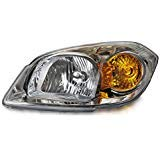 HEADLIGHTSDEPOT Compatible with Headlight w/o Bracket Left Driver Side Fits Chevy Cobalt Sedan/Coupe -