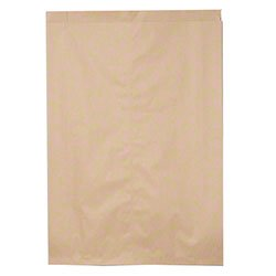 """Callico Distributors Duro Bag MFG Merchandise Bag Food Wrapping Catering Supplies Kraft - 17x4x24"""" 500 per Case price tips cheap"""