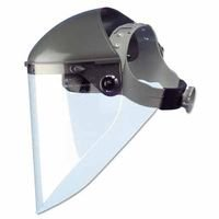 High Performance Faceshield Headgears, 7 in Crown, 3C Ratchet (12 Pack)