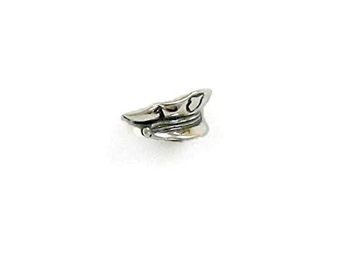 Sterling Silver 3D Police Officer Hat Charm ()