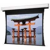 Tensioned Advantage Deluxe Electrol White Electric Projection Screen Viewing Area: 110