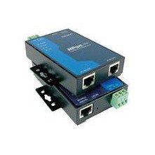 MOXA NPort 5210 w/Adapter 2 Port Serial Device Server, 10/100M Ethernet, RS-232, RJ45 8pin, 15KV ESD, 110V 230V by Moxa