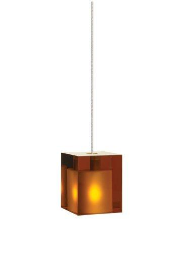 FJ-Cube Pend amber, ch by Tech - Tech Cube Lighting