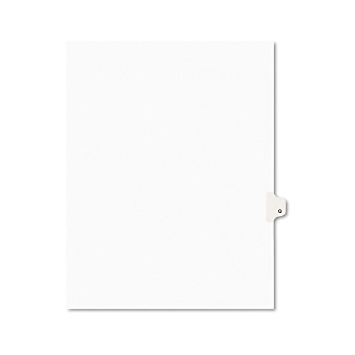 Avery Legal Dividers, Premium Individual Tab Titles, Letter Size, Side Tabs, Q, Pack of 25 (Avery Individually Lettered Tabs)