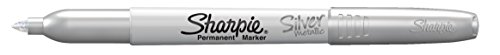 Sharpie 39108PP Fine Point Metallic Silver Permanent Marker, 1 Blister Pack with 2 Markers each for A Total of 2 Markers by Sharpie (Image #2)