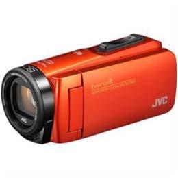 カメラ カメラ本体 ビデオカメラ JVCケンウッド ハイビジョンメモリービデオカメラ 「Everio(エブリオ) Rシリーズ」 64GB ブラッドオレンジ GZ-RX680-D -ak [簡易パッケージ品] B07H36LX3D