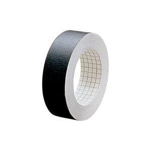 ( お徳用 100セット ) プラス 製本テープ/紙クロステープ 【25mm×12m】 裏面方眼付き AT-025JC 黒 ×100セット   B01M4L23LZ