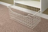 Easy Track 1312 Closet Wire Basket, 12 Inch by Easy Track Easy Track Wire Basket