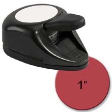EK Success Paper Shapers 1-Inch Circle Nesting Punch, Old Package