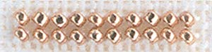 Mill Hill Petite Glass Seed Beads, Victorian Copper