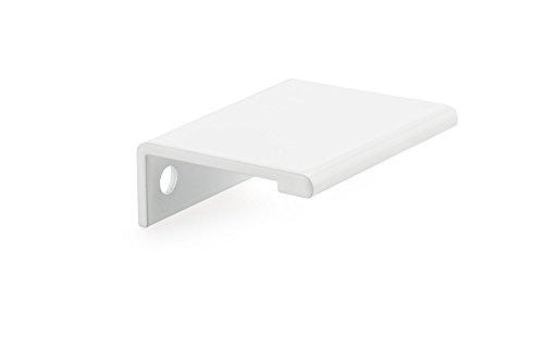 (Richelieu Hardware - BP98983330 - Contemporary Aluminum Edge Pull - 9898 - 33 mm - White  Finish)