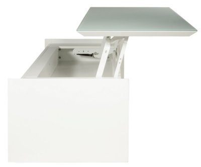 BrillantCuisineamp; Relevable Maison Table Basse Blanc Tommy 8nwN0m