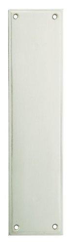 Emtek 86436 3 Inch x 12 Inch Modern Push Plate, Flat Black