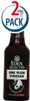 Eden Foods, Selected, Ume Plum Vinegar, 10 fl oz (296 ml) 2-Pack by Eden