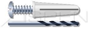 (10pcs) 10-12 Plastic Anchors Bantam Plugs Conical, Kits Ships FREE in USA Aspen Fasteners