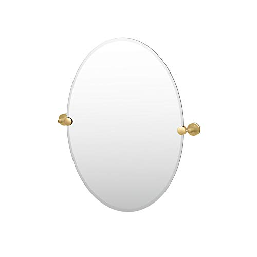 Gatco 4239 Latitude II Oval Mirror, 26.5