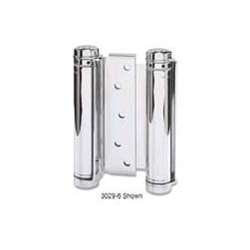 Satin Plated Mortise - Bommer 3029-7-652 7in Double Acting Spring Hinge-Mortise Type-Steel Base-Satin Chrome Plated by Bommer