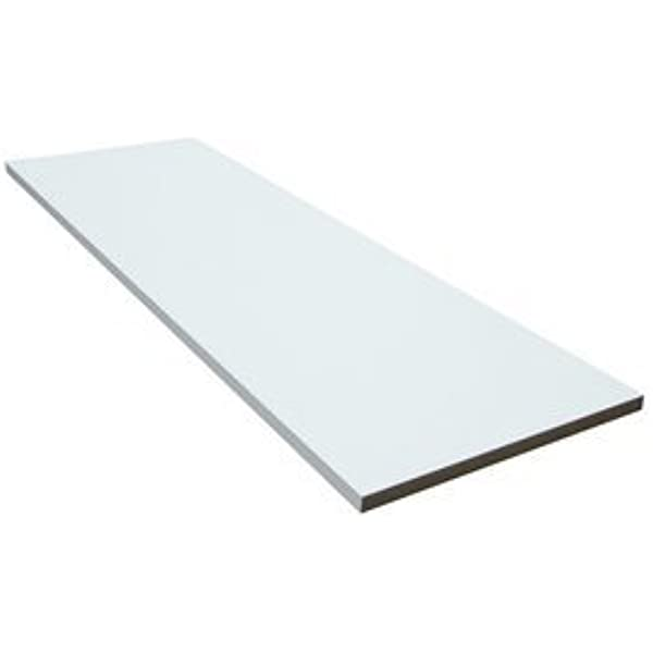 White Melamine Board 8x4ft 2440mm x 1220mm Thickness: 15mm