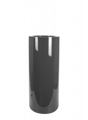 Le Present J19092.095 S Grey Fiber Pot Cylinder44; 36 x 12 in. by Le Present