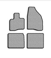 FORD Five Hundred Floor Mat Carpet Custom Fit Replacement 4 pc set (2 Piece Front & 2 Piece Rear)With nibbed rubber waterproof backing & binded edges Beige Fits 2000-2007 Avery's Floor Mat 2141-B