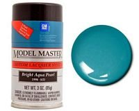 (Testors Bright Aqua Pearl, 3oz Spray Paint ~ 28115)
