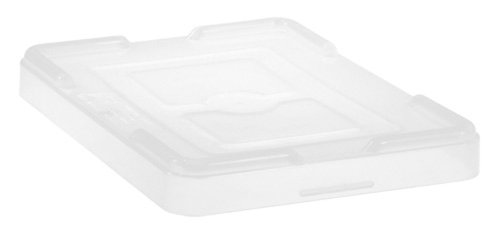 Quantum Storage Systems COV93000CL Cover for Dividable Grid Container DG93030, DG93060, DG93080 and DG93120, Clear, 3-Pack (Dividable Covers Grid)