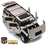 2003 Hummer H2 CSI: Miami (2002-2012) TV Series 1/18 Diecast Car Model by Highway 61 18006