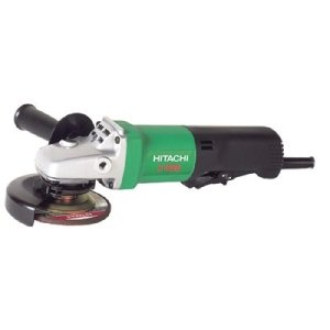 Hitachi Power Tools Disc Grinders, 4 1/2 in Dia, 9.5 A, 11,000 rpm, Paddle