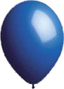 Single Source Party Supplies - 17'' Seal-Sealing Valved Dark Blue Latex Outdoor Balloon by Single Source Party Supplies