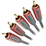 - Nxg Basix Component Vide Stereo AUD Cable 3M