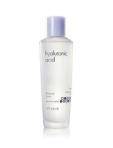 ItS SKIN Hyaluronic Acid Moisture Toner 150ml 5.07fl. Oz. - Serum For Face Acne Treatment Astringent Hydrating Natural Pore Minimizer Tonner Anti aging