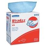 Wypall X70 Blue Wipes, 9'' X 16.8'', Pop-Up Box, 100 Wipes/Box, 10 Box/Case