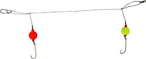 Lazer Rig Bait - Eagle Claw L931 Lazer Sharp Bluefish Fireball Hi-Lo Rig 3/0