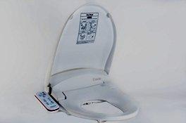 HomeTech Feel Fresh HI-7000 White Bidet Washing Toilet Seat ROUND