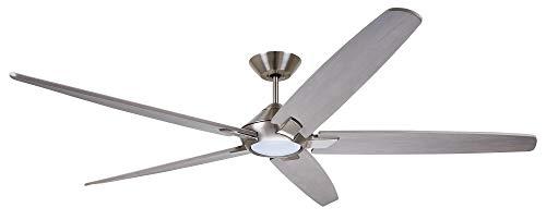 "Emerson CF515TM72BS 72"" Dorian Eco Ceiling Fan, Brushed Steel Emerson"